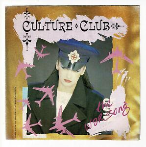 Culture Club Boy George Vinile 45 Giri The War Song - Chanson Di -vergine 90149