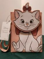 DISNEY LOUNGEFLY THE ARISTOCATS MARIE DIE-CUT CROSSBODY BAG NEW 8""