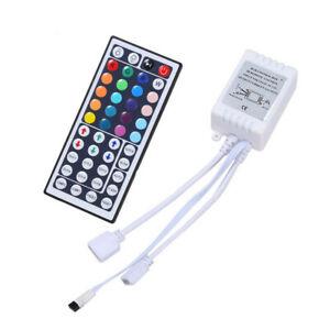 24/44 Key IR Remote Controller Box AC/DC 12V For LED RGB 3528/5050 Light Strip