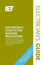 IET Electricians Guide to the Building Regulations, 9781785614682 5th Ed.