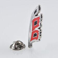 "NHL Carolina Hurricanes ""Emblem Flag"" pin, badge, lapel, hockey"