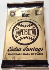 2012 Panini Cooperstown Extra Innings HOBBY Box Bonus PACK Crystal Collections