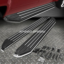 "5.5"" BLACK ALUMINUM SIDE STEP RUNNING BOARD NERF BAR FOR 07-13 ACURA MDX YD2 SUV"
