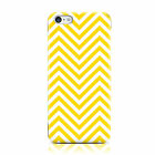DYEFOR YELLOW WHITE ZIGZAG PATTERN CASE COVER FOR APPLE IPHONE MOBILE PHONES