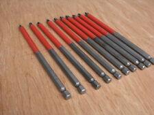 10 x quality 150mm pz2 Screwdriver Bits fits makita dewalt bosch 18v cordless