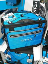 Titan cooler lightweight & collapsible holds 40 Cans! Warehouse  pricing