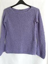 Press & Bastyan Chunky Knit Purple Jumper Size 12