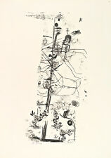 Bird Comedy by Paul Klee 1918 60cm x 42.3cm High Quality Art Print