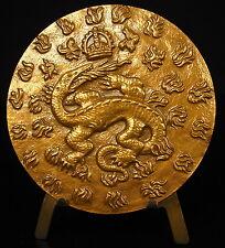 Medaille Salamandre baffie lebraude salamander animal légendaire Chambord Medal