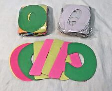 """*360 Count* RoyalBrites 4"""" Jumbo Neon Poster Letters & Numbers - *SEE NOTE*"""
