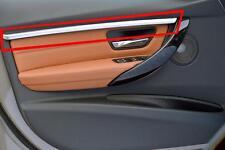 BMW Genuine 3 f30 f31 15-17 N/S SINISTRO PORTA ANTERIORE accento Chrome Trim 7393489