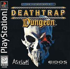 Deathtrap Dungeon (Sony PlayStation 1, PS1, PS One, PS2) Rare, Complete