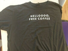 Starbucks Employee T-shirt Hello Free Coffee 2xl Gray Preowned Nice Condition