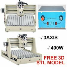 US!Engraving Machine 3 Axis CNC 3040 Router 400W Spindle Motor DIY 3D Cutter DHL