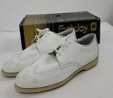 Footjoy Greenjoys White Lite Spike System Golf Shoes Womens Sz 11