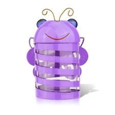 TOOARTS Bee candle holder(purple)  Hurricane lamp  Practical ornament  F4E2