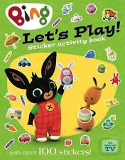 Let's Play sticker activity book (Bing) by HarperCollins Publishers (Mixed media product, 2015)