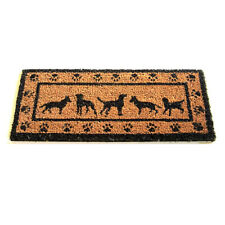 GARDMAN DOG PAW PRINT INSERT DOOR MAT FOR USE WITH RUBBER BASE TRAY HALL 82483