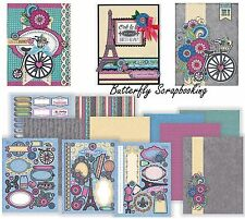 Ooh La La Artful Card Making Kit Paper Crafting HOT OFF THE PRESS 7273 New