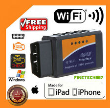 ELM327 WiFi OBD2 OBDII Car Diagnostic Scanner Code Reader Tool for iOS WN