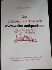 Walter Frei: Zur Geschichte der Glattalbahn 1956 Uster Schweiz Eisenbahn Bahn