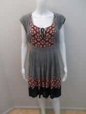 MARCS PRINT DRESS SIZE 12  (#H529)