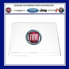 New Genuine Fiat Service History & Warranty Book/Manual. 60395957