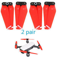 4x Red Propeller Fast Release Foldable Snap-on Accessory For DJI SPARK 4730F