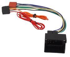 Adaptador cable enchufe ISO para autoradio de Audi, Seat, Skoda y Volkswagen