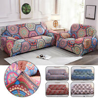 2/3/4 Seater Stretch Mandala Sofa Covers Slipcover Settee Boho Couch Protector