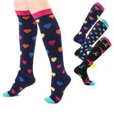 3 Pairs Compression Socks is BEST Athletic & Medical for Men & Women Running