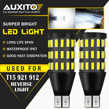 2X AUXITO T15 921 912 White LED BackUp Reverse Light Bulbs For Subaru Hyundai A