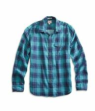 NWT LUCKY BRAND One Pocket Azure Button Shirt Sz S Mens $70