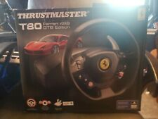 Thrustmaster T80 Ferrari 488 GTB Edition Racing Wheel (Pedals Excluded) (PS4/PC)