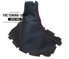Gear Boot For Ford Mustang 2005-2010 Leather Red Stitching