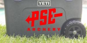 PSE Archery Die-Cut Vinyl Decal Sticker      Choose Color