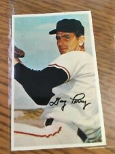 1969 MLB PHOTOSTAMPS GAYLORD PERRY OFFICIAL SPORTS COLLECTORS