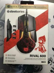 SteelSeries RIVAL 600 DOTA 2 EDITION Official Dota 2 Gaming Mouse 62448 NEW
