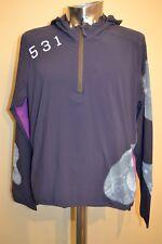 Paul Smith 531 Blue Showerproof Cycling Hoodie Size XL New
