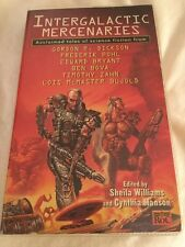 Intergalactic Mercenaries SIGNED by Frederik Pohl & Lois M Bujold 1st 1996 SF PB