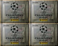 PANINI UEFA CHAMPIONS LEAGUE 1999 / 2000 Lot Of 4 SEALED PACKS  PACKETS RARE