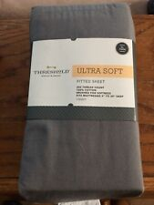 Ultra Soft Fitted XL Twin Sheet, Gray