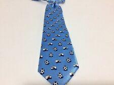 The Children's Place necktie SOCCER light blue SIZE 24M-4T cleats balls clip on