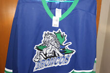 Barrie Broncos Amatuer Oha Hockey Jersey Nwt Sz Xl Rare Defunct