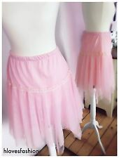 ✨👑💖Nett Tutu Fairy Princess Skirt Ted Pink Odella Party Special M/L FAST📮💗👑