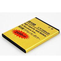 New Li-ion Battery  For  Samsung Galaxy SII i9100 2450mAh High-Capacity Golden
