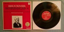 Bruckner Sinfonie Nr. 4 LP Bernard Haitink Europe import Philips 835 385 LY exc