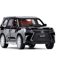 Lexus LX570 SUV 1:32 Diecast Model Car Toy Collection Pullback Sound&Light Gift