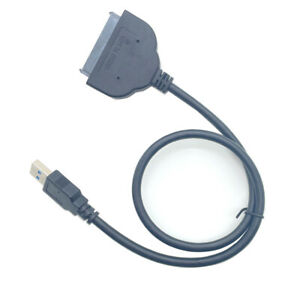 NEW USB 3.0 to 2.5in SATA III Hard Drive Adapter Cable SSD UASP SATA HDD