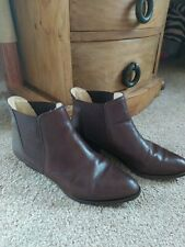 Bally Chelsea Boots Size 6 (39). Brown Leather.